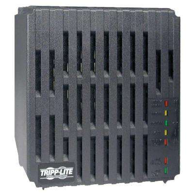Line Conditioner 1200 Watt AVR Surge 120-Volt 10-Amp 60Hz 4 Outlet 7-ft. Cord