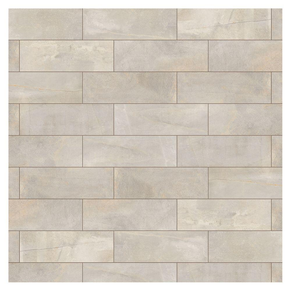 Marazzi Developed by Nature Pebble 4 in. x 12 in. Glazed Ceramic Wall Tile (191.52 sq. ft. / pallet)