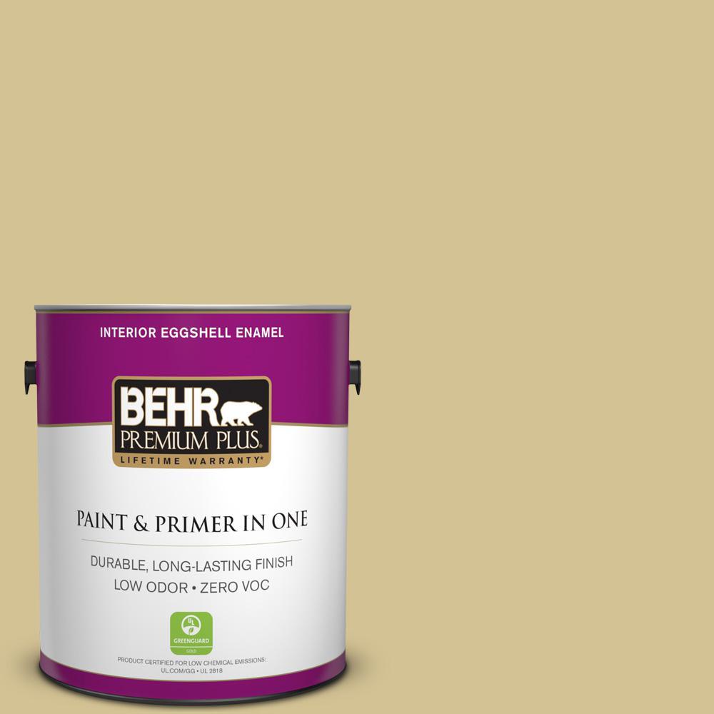 BEHR Premium Plus 1-gal. #M310-4 Almondine Eggshell Enamel Interior Paint