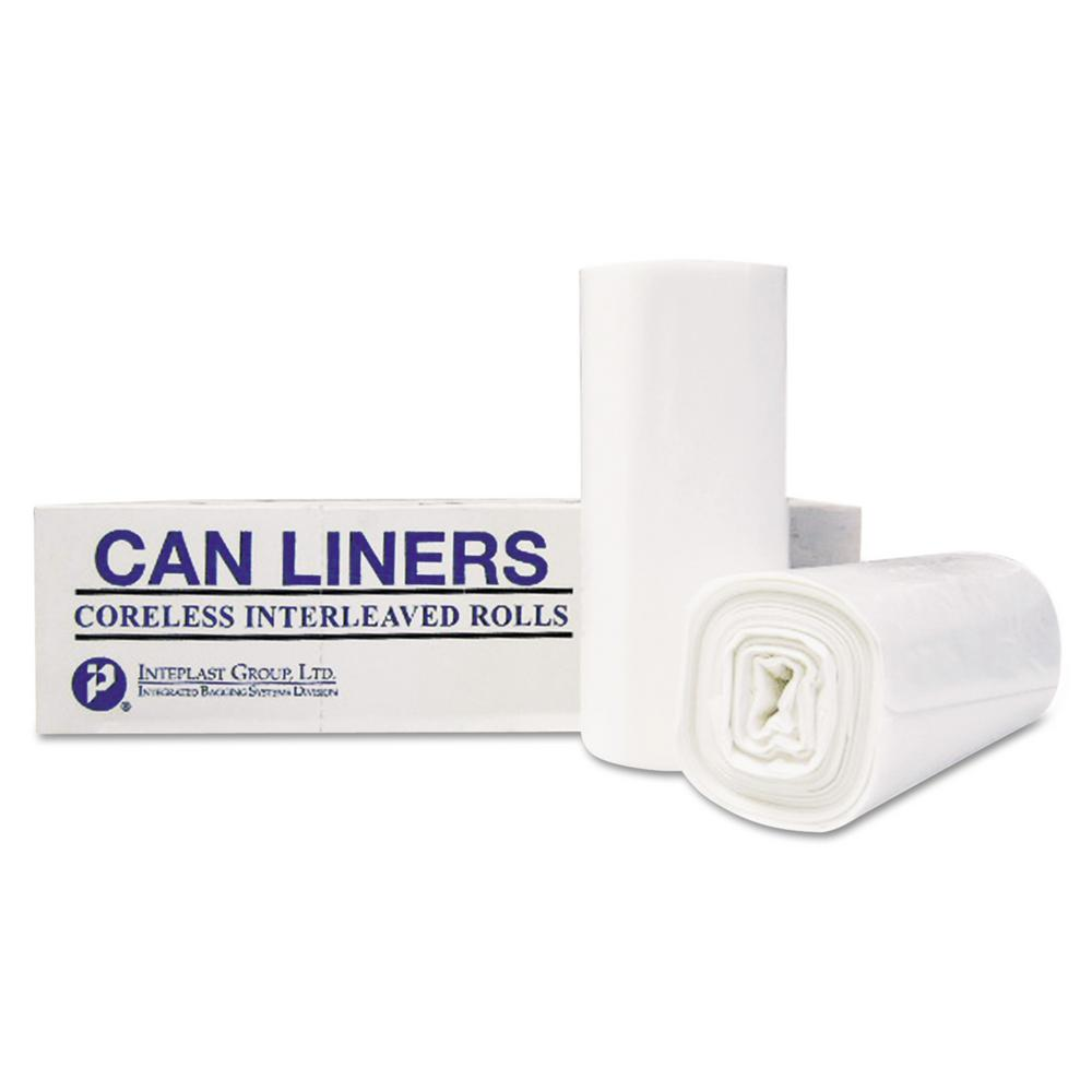 High-Density Can Liner, 36 x 58, 55-Gallon, 13 Micron Equivalent, Clear,