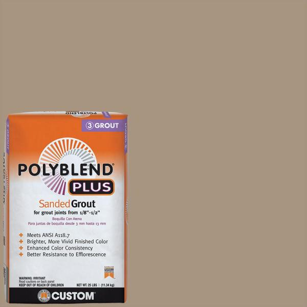 Polyblend Plus #145 Light Smoke 25 lb. Sanded Grout