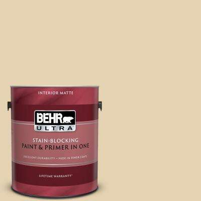 1 gal. #S310-2 Journal White Matte Interior Paint and Primer in One