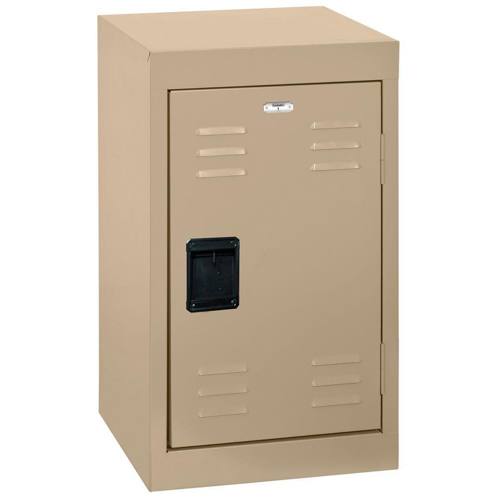 24 in. H Single-Tier Welded Steel Storage Locker in Tropic Sand
