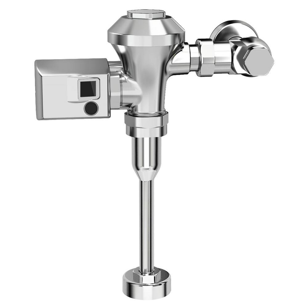 Ultima Sensor-Operated 1 GPF Toilet Diaphragm-Type Flush Valve in Polished Chrome