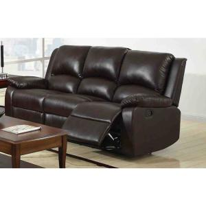 Fabulous Oxford Rustic Dark Brown Faux Leather Sofa Short Links Chair Design For Home Short Linksinfo