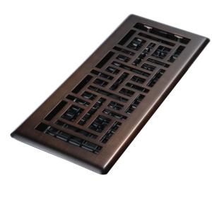Oil rubbed bronze floor register carpet vidalondon for 10 x 14 floor register