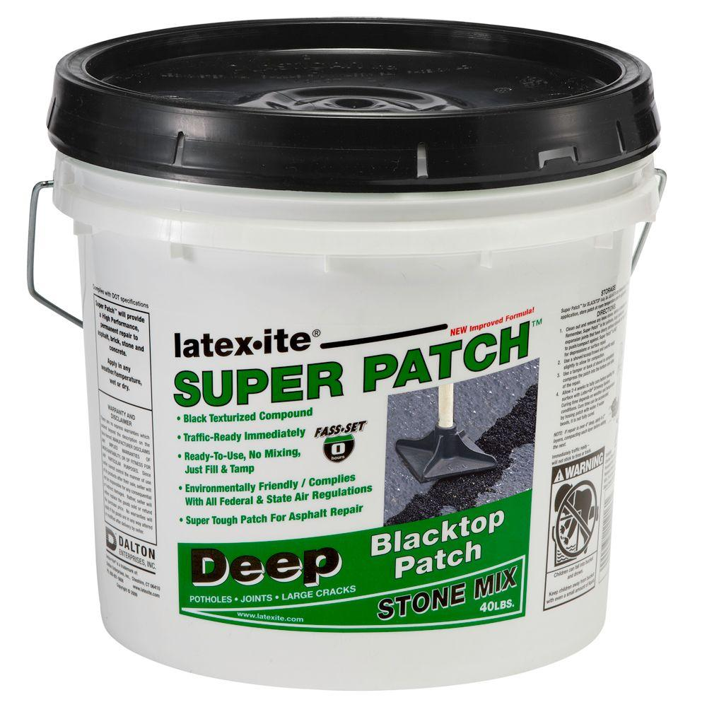 Asphalt Асфальт Home: Latex-ite 3.5 Gal. Super Patch-4SP