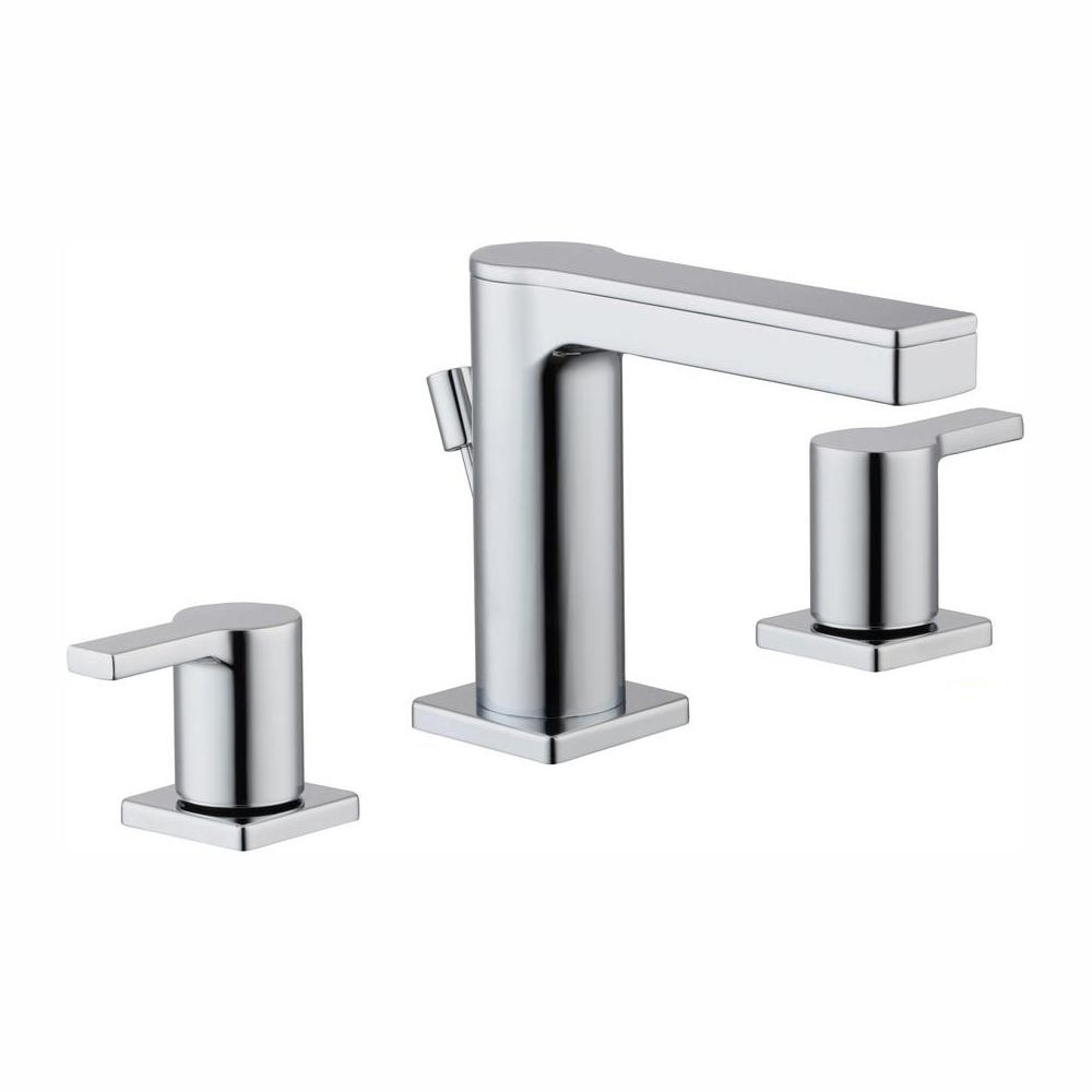 Modern Faucets For Bathroom Sinks.Glacier Bay Modern Contemporary 8 In Widespread 2 Handle Low Arc Bathroom Faucet In Chrome