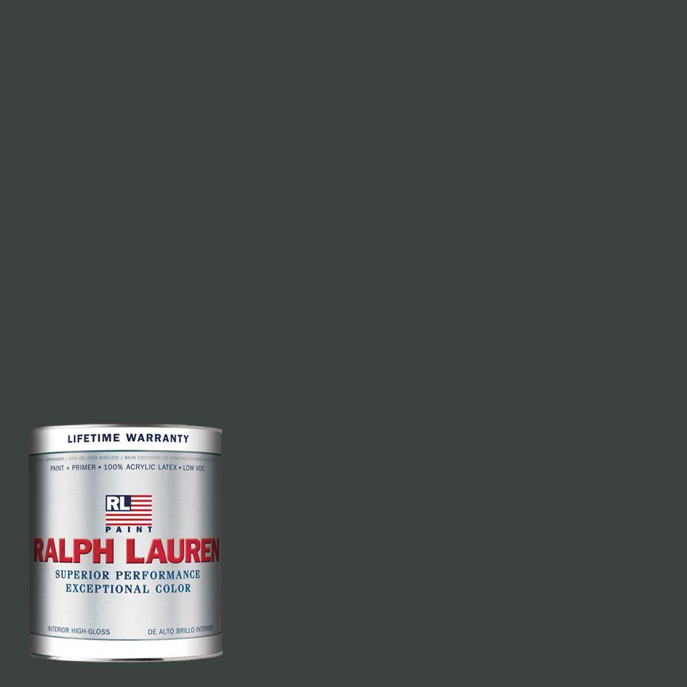 Ralph Lauren 1-qt. Black Basalt Hi-Gloss Interior Paint