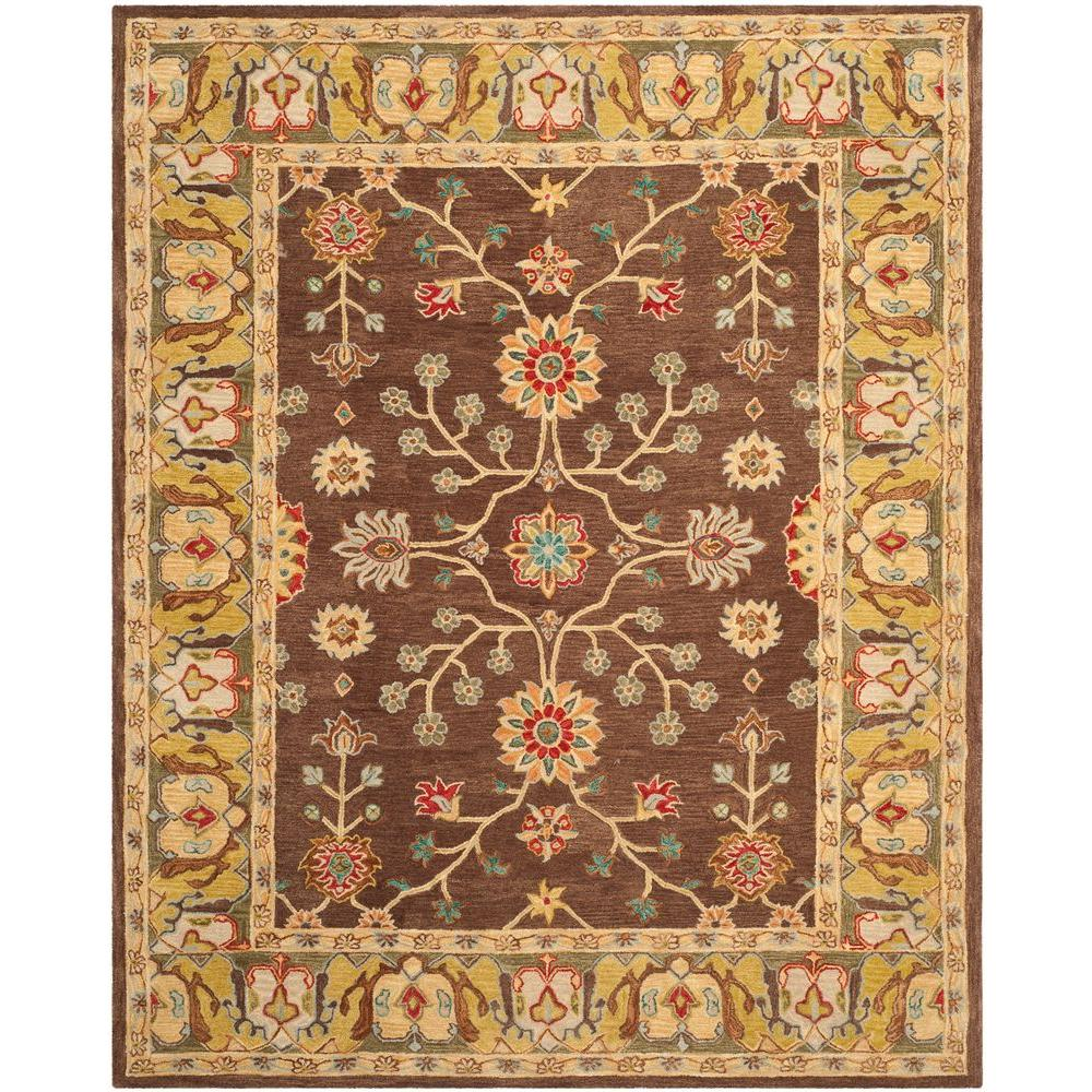 Safavieh Anatolia Brown/Gold 8 ft. x 10 ft. Area Rug