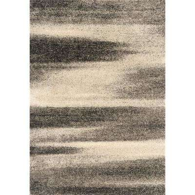 Serenity Fantasy Grey 2 ft. 7 in. x 4 ft. 2 in. Accent Rug