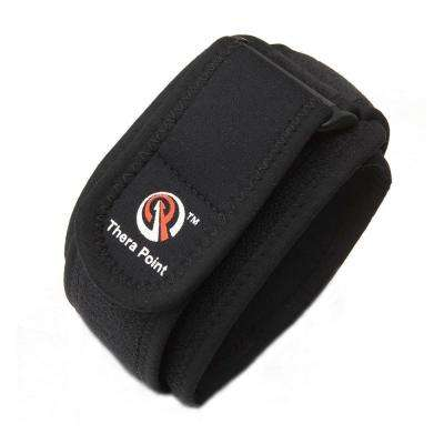Elbow Focal Pressure Support Strap in Black