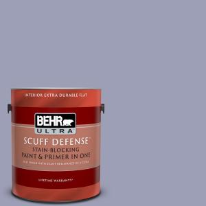Behr Marquee 1 Qt S110 4 Highland Thistle Semi Gloss Enamel Exterior Paint And Primer In One 545004 The Home Depot