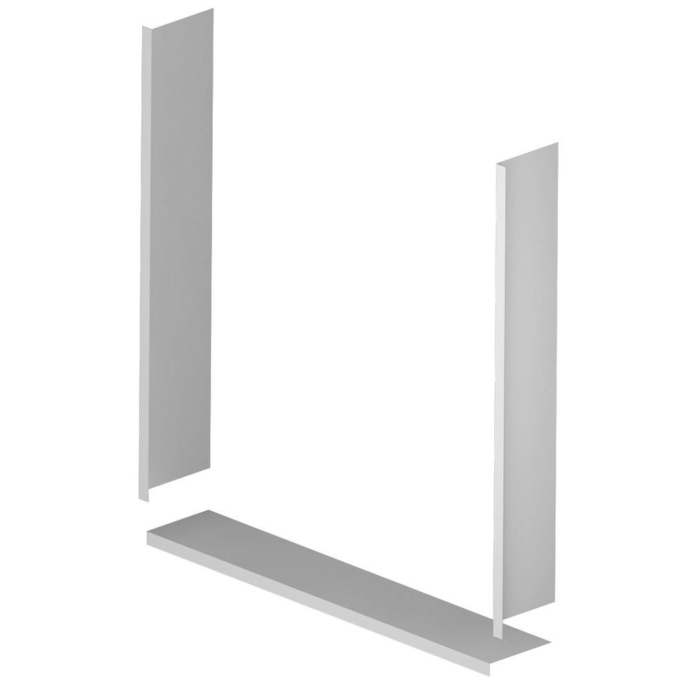 ASB 36 in. x 36. in Window Trim Kit in White-1TRIM03A - The Home Depot