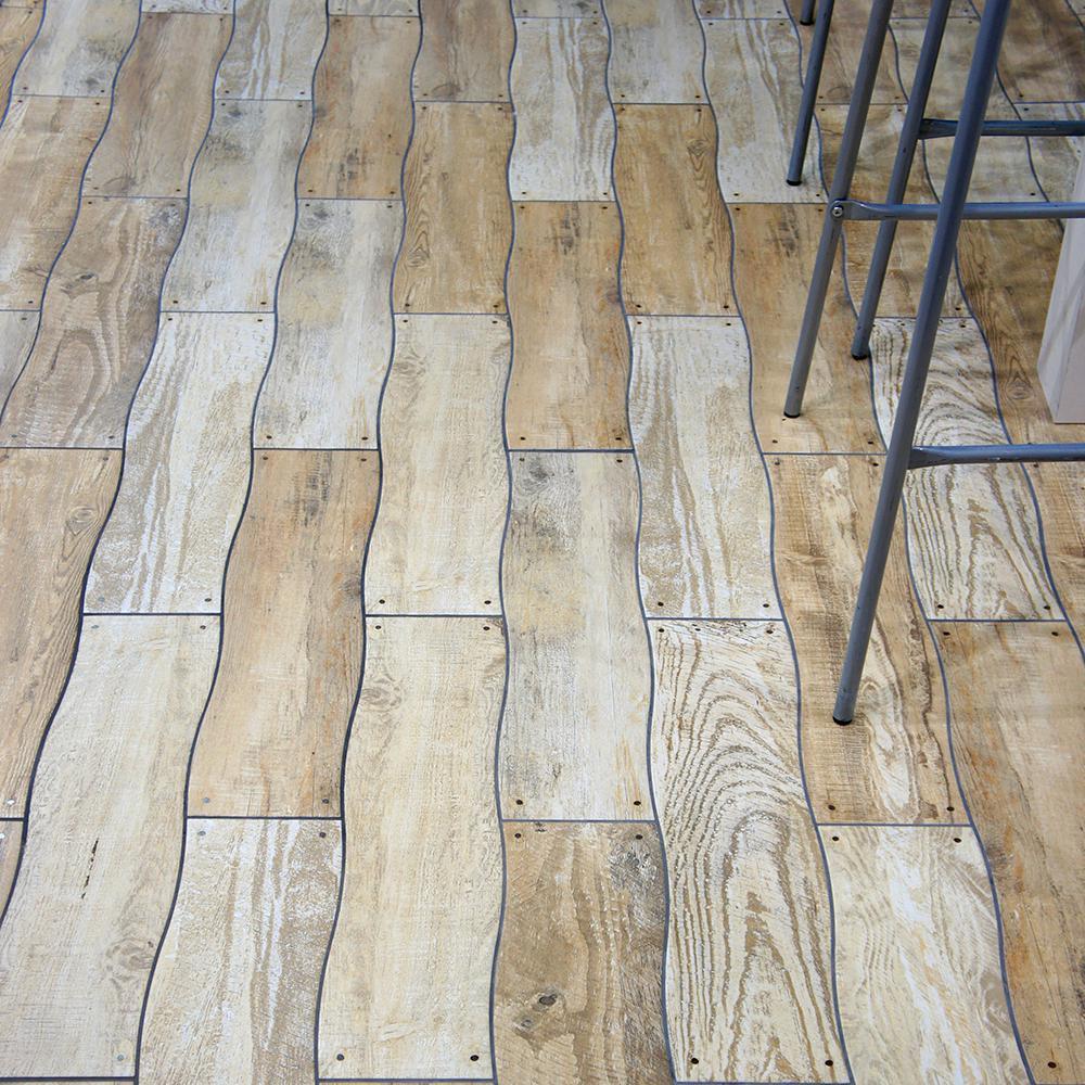 Merola Tile Montecarlo Grey 5 8 In X 23 Ceramic Floor