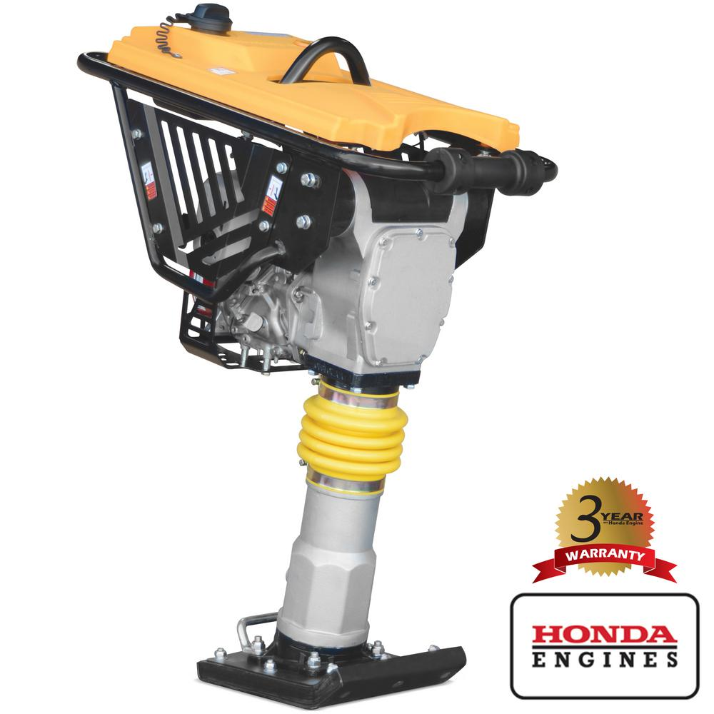 Tomahawk Power 3 HP Honda Vibratory Rammer Tamper with Honda GX100 Engine