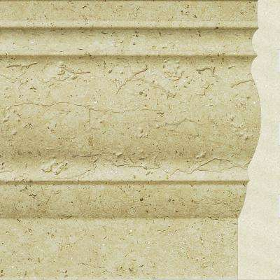 Upscale Designs 0.7 in. x 4.5 in. x 72 in. Polystyrene Base Moulding - 60 lin. ft. (10-Pieces)