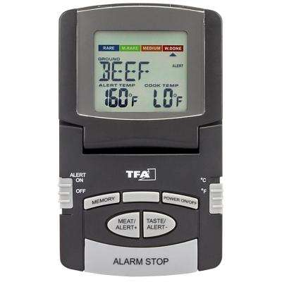 Digital Meat Thermometer with Foldable Display and Magnet