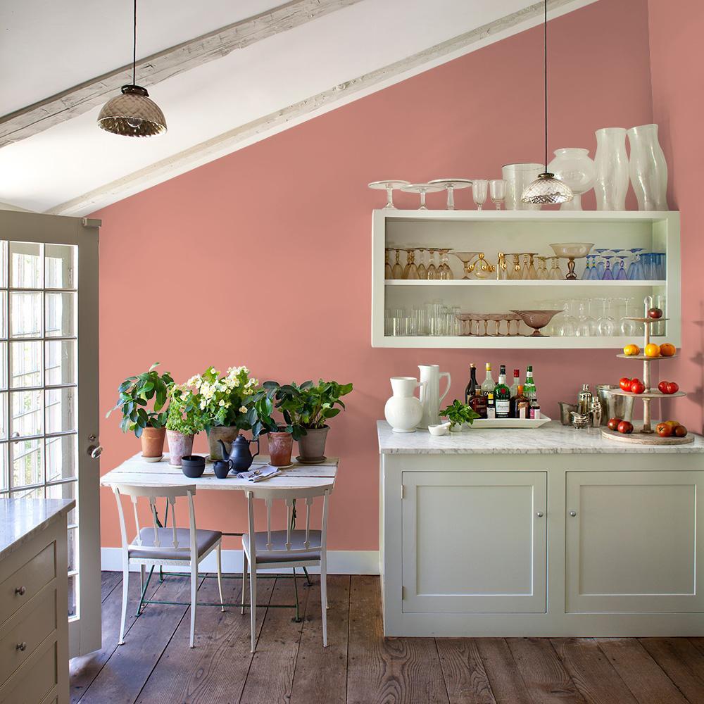Glidden Essentials 1 Gal Holland Tile Ppg1064 5 Flat Exterior Paint Ppg1064
