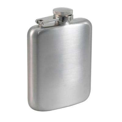 Podova Satin Stainless Steel Liquor Flask 6 oz.