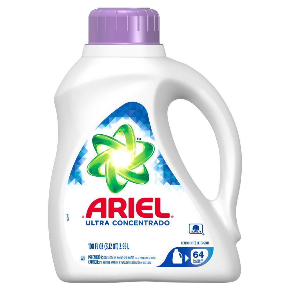 Ariel Ultra 100 oz  Liquid Laundry Detergent (64 Loads)
