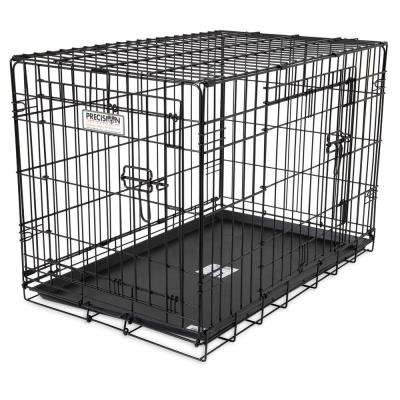 42 in. x 28 in. x 31 in. 2-Door Great Crate Wire Kennel