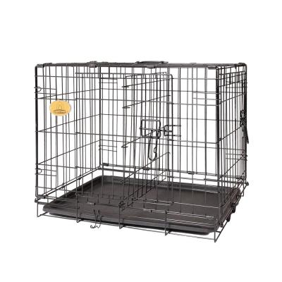 30 in. x 19 in. x 23 in. Wire Dog Crate - Small Size