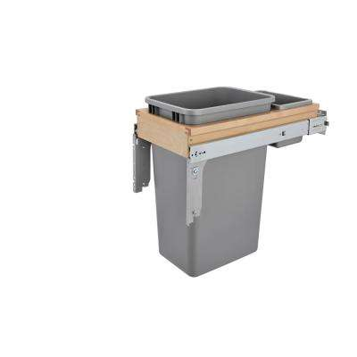 50 Qt.. Top Mount Waste Container