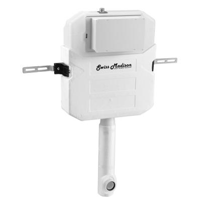 0.8/1.28 GPF 2 ft. x 6 ft. Concealed in Wall Dual Flush Toilet Tank Carrier for Back to Wall Toilet in White