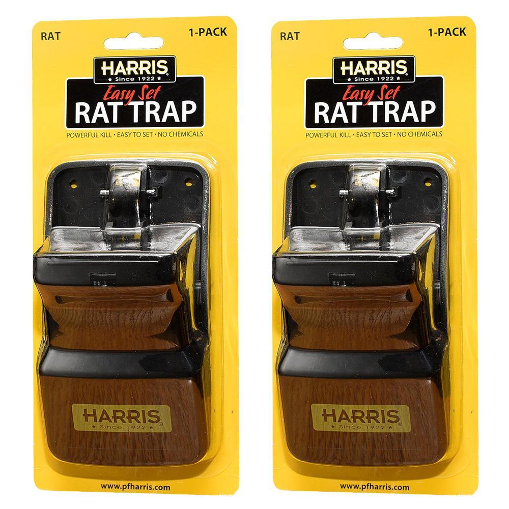 Reusable Plastic Rat Trap (2 Pack)