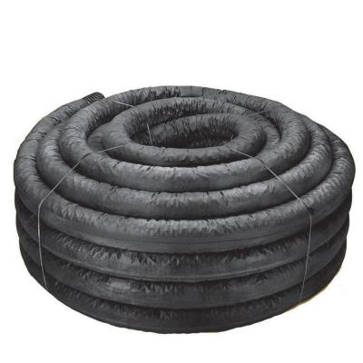 FLEX-Drain 4 in  x 25 ft  Solid Polypropylene Pipe-52110D - The Home