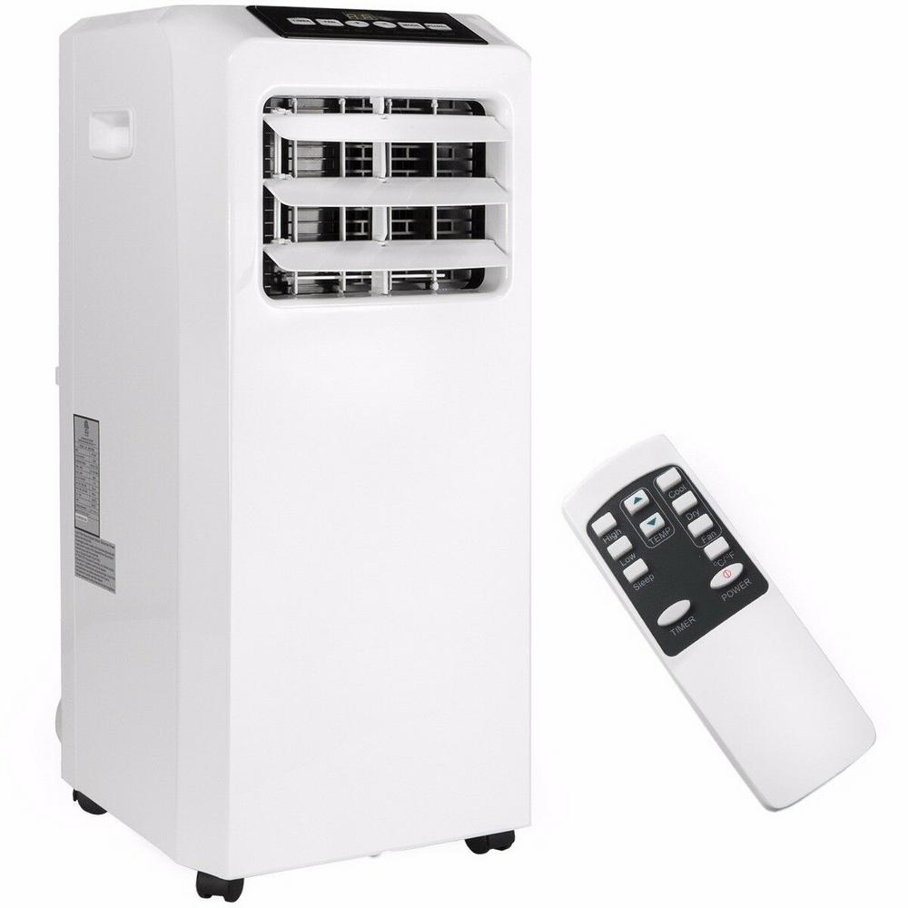 Barton 8,000 BTU (DOE) 3-in-1 Portable Air Conditioner A/C Unit with Dehumidifier Fan and Remote in White