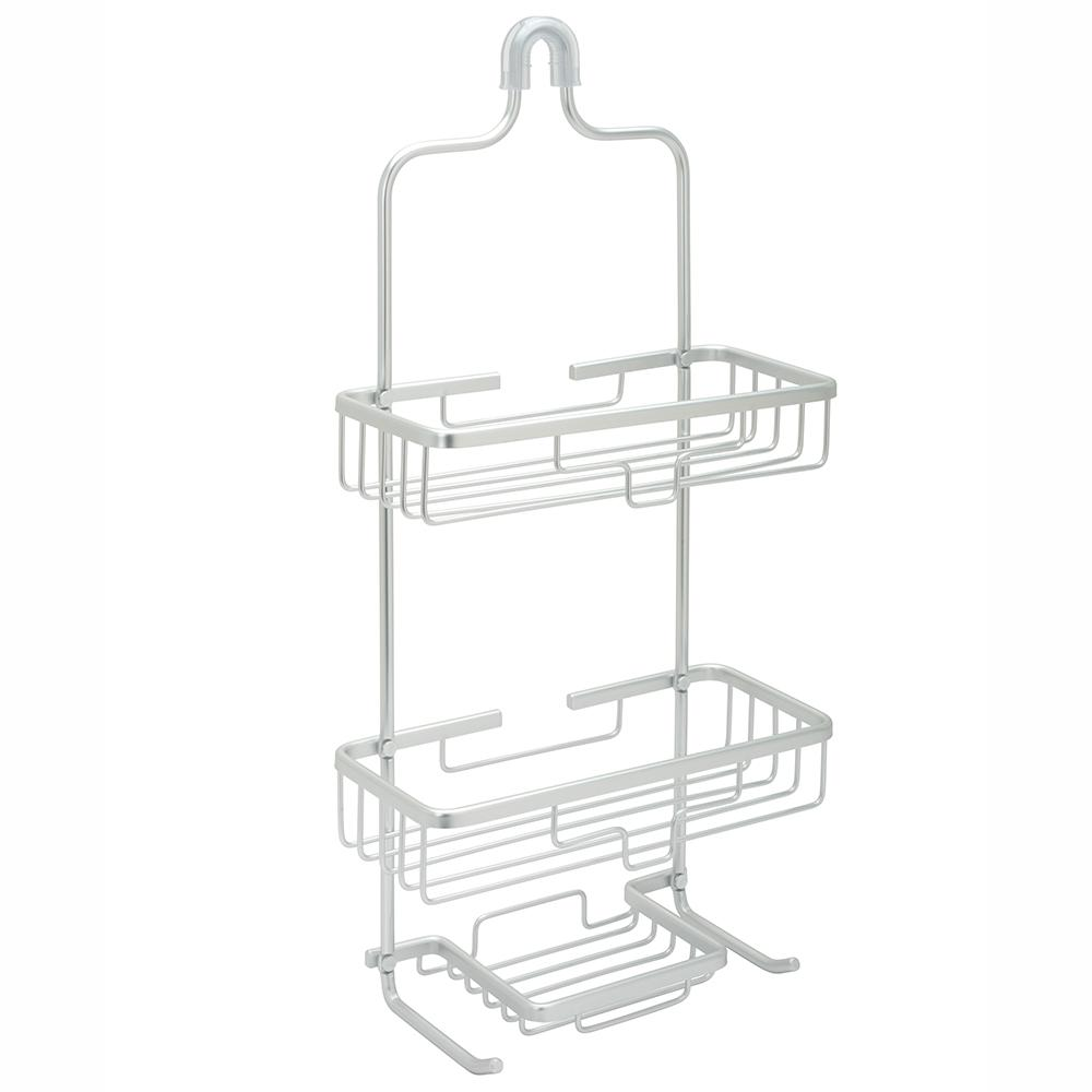 NeverRust Aluminum Large Shower Caddy Chrome-7402AL - The Home Depot