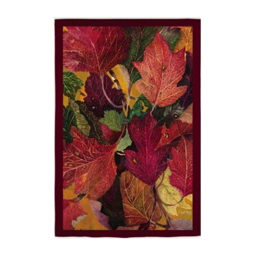 Evergreen 2 ft. x 4 ft. Colorful Fall Leaves Flag