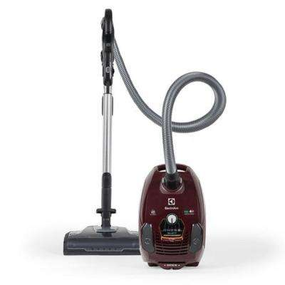 Silent Performer Deep Clean Canister Vacuum in Brown