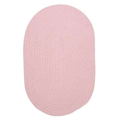 Edward Pink 2 ft. x 3 ft. Braided Area Rug