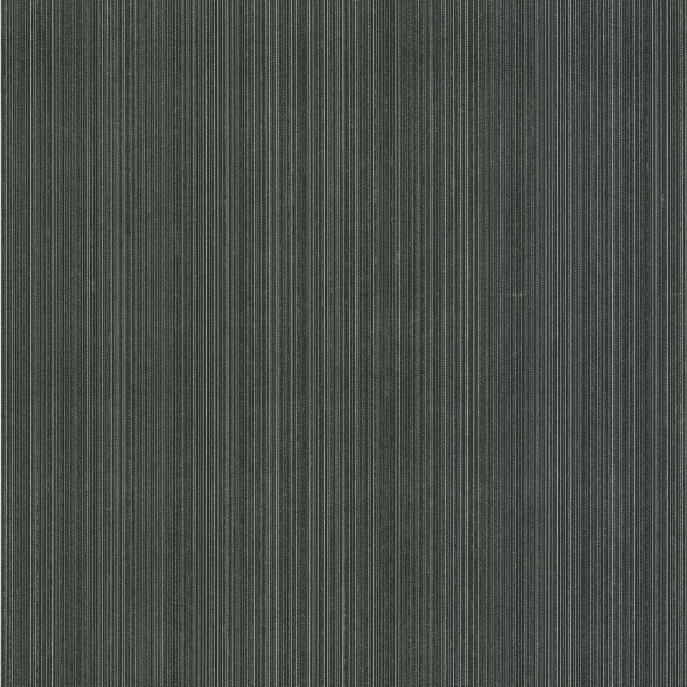 Suelita Charcoal Striped Texture Wallpaper Dl30460 The Home Depot