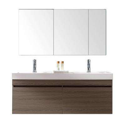 Light Brown - Vanities with Tops - Bathroom Vanities - The Home Depot