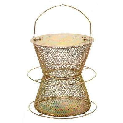 Brass Hourglass Wild Bird Feeder