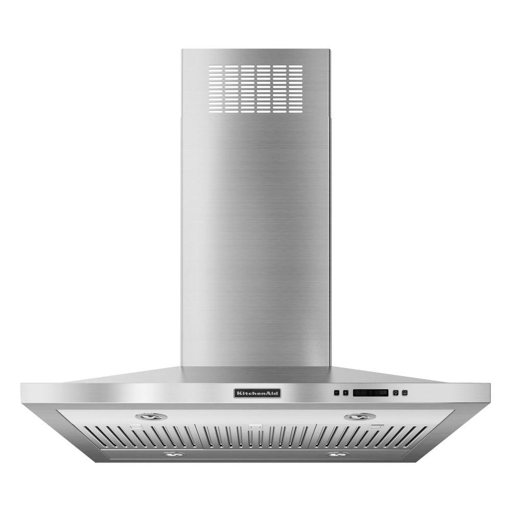 KitchenAid Architect Series II 36 in. Island Canopy Range Hood in Stainless Steel