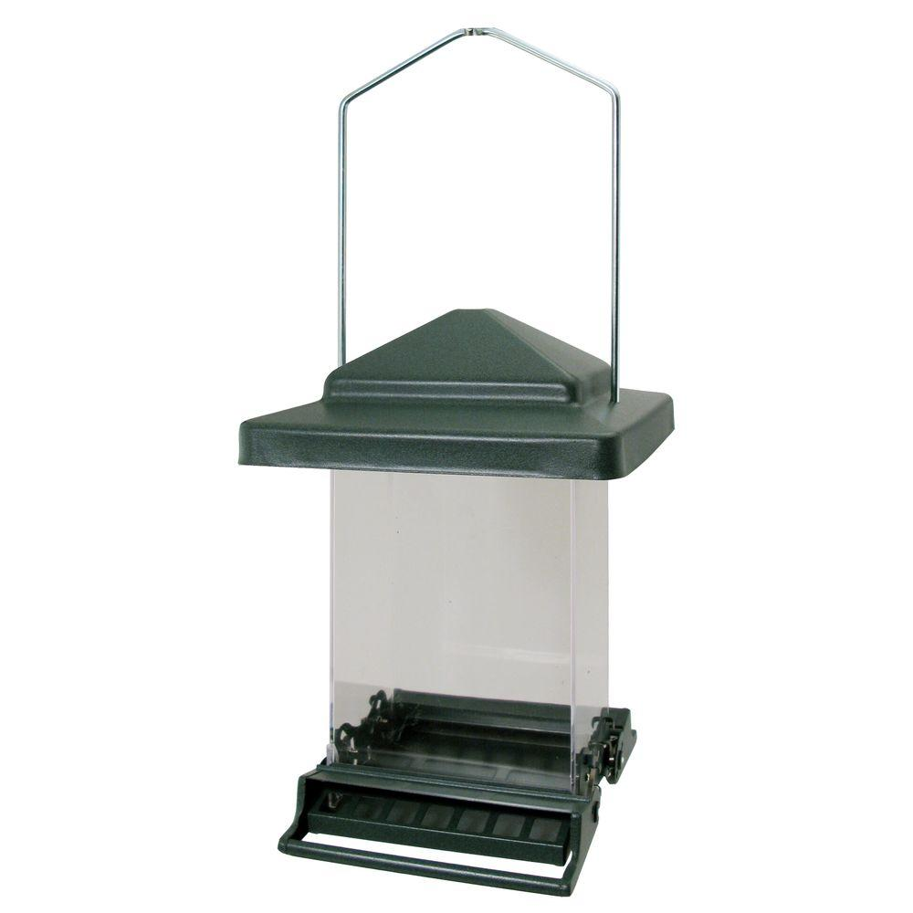 Vista Bird Feeder, Green