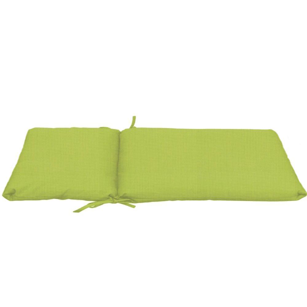 Sunbrella Kiwi Longer Length Outdoor Chaise Cushion