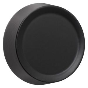 dimmer knob wall plate black