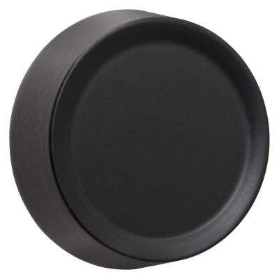 Dimmer Knob Wall Plate - Black
