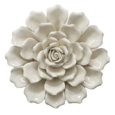3 in. Flower Wall Decoration