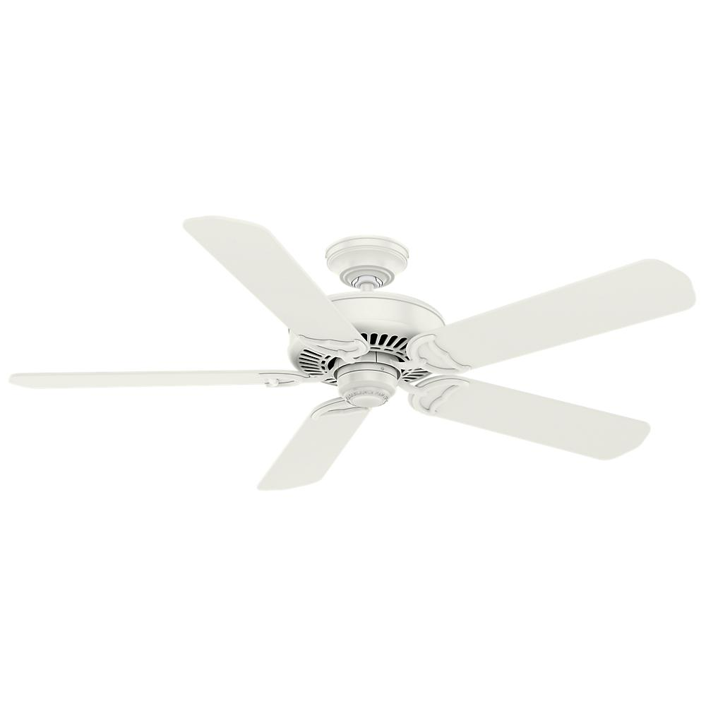 Casablanca Panama 54 in. Indoor Fresh White Ceiling Fan
