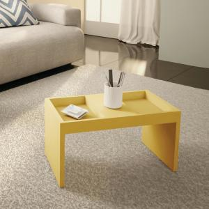 Coffee Table Pick Up Line.Paterson Yellow Modern Coffee Table With Magazine Shelf