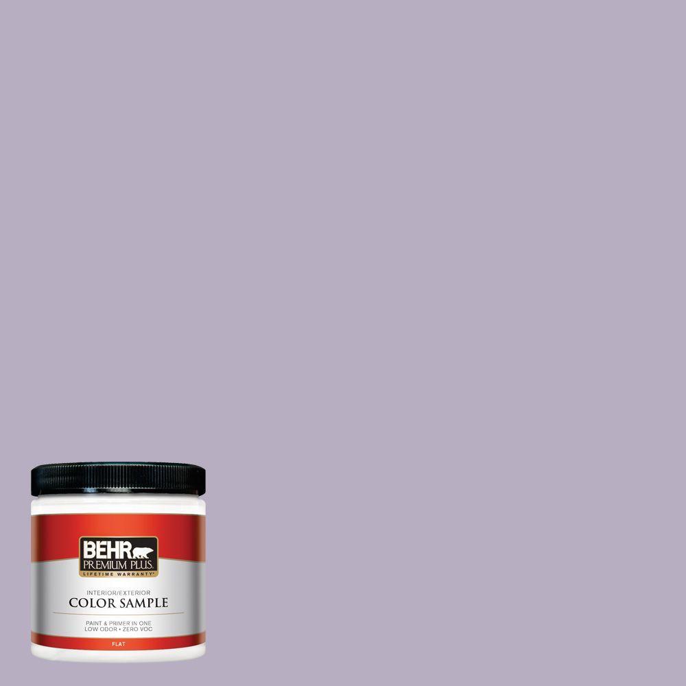 8 oz. #BIC-07 Virtuous Violet Interior/Exterior Paint Sample