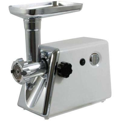 250 W Electric Meat Grinder with Kubbe Attachment, Food Stuffer and Sausage Tube