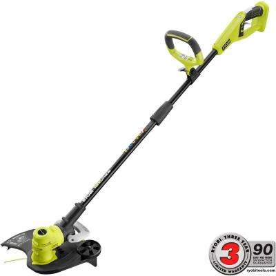 ONE+ 18-Volt Lithium-Ion Cordless Electric String Trimmer/Edger Battery and Charger Not Included